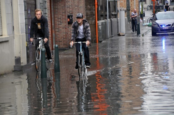 Editiepajot : Wateroverlast in het centrum van HALLE