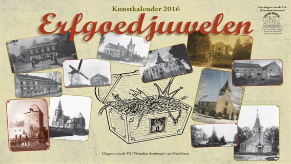 Editiepajot kunstkalender 2016 erfgoedjuwelen van merchtem for Bureau 13 merchtem