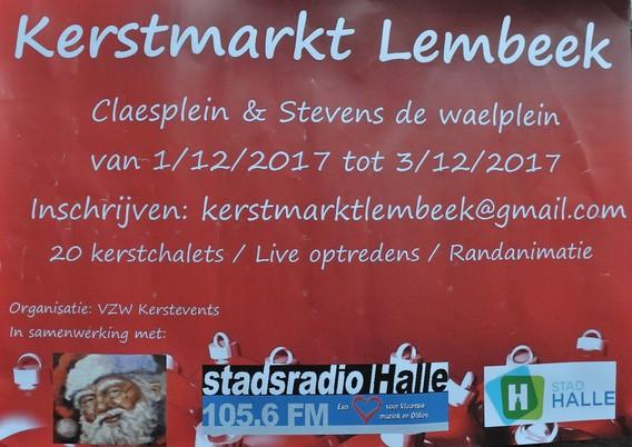 Editiepajot Halle Eerste Kerstmarkt Onder De Kerktoren Van Lembeek