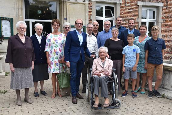 Editiepajot Beersel Marieke Eylenbosch Viert Haar 100ste Verjaardag