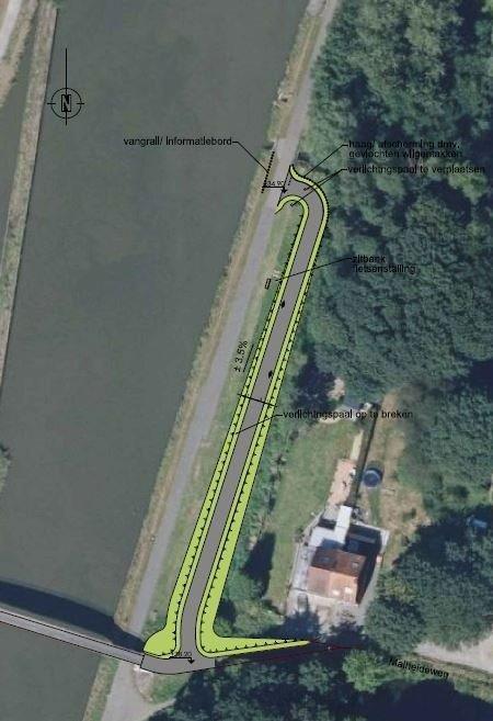 Canal Bruxelles-Charleroi  partie Flamande Halle(Lembeek) - Sint-Pieters-Leeuw - EV5 - Eurovelo 5 - F20 - Page 3 Malheidebrug